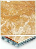 Yellow Onyx Marble Honycomb Composite Tiles