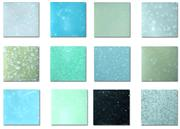 Cyan Quartzite Artifical Stone