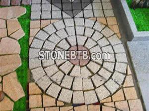 G687 Cheap Granite Cube Stone