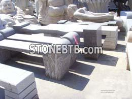 Stone Table & Chair