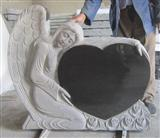 Angel-heart  Monument Tombstone