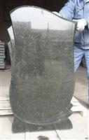 Green galaxy granite monument
