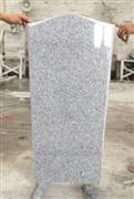 Russia style G603 white granite monument JD-11
