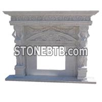 Popular style firplace mantel