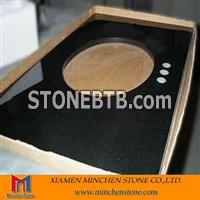 Chinese Black Granite Vanity Top