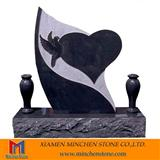 Heart Shape Granite Monument