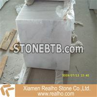 crystal white supper white marble tile
