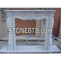 Granite Marble Fireplace