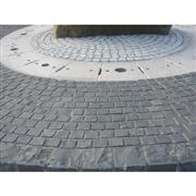 Porphyry Paving Stone Cubic Stone Exterior Pattern Granite Paving Stone