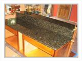 Green Butterfly Countertop