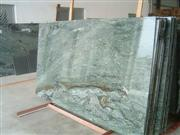 Light green marble slabs
