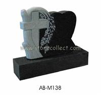 Black Granite Tombstone AB-M138