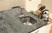 Gray Soapstone Countertop