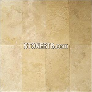travertine tile lucce light