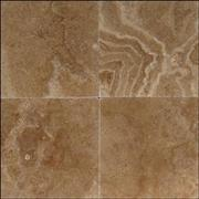 travertine tile nocce light