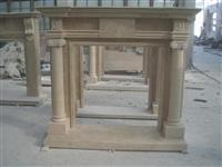 Natural Stone Fireplace Mantel