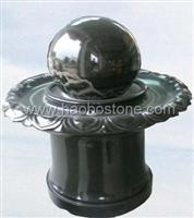 Floating ball fountian