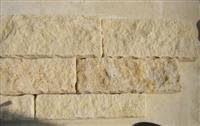 Dark Yellow Limestone Wallstone