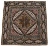 Multicolor Slate Medallion mosaic