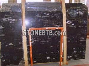 Supply low price black marble