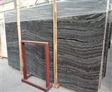 Marble Black Wood Grain