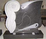 Granite and Marble Tombstone