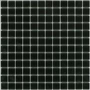 Black glass mosaic