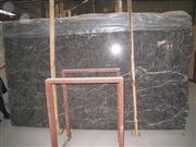 Hang Grey Marble Slab with Red Veins