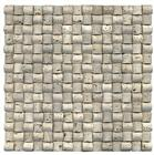 White Travertine Medium Mosaic