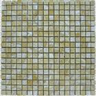 Travertine mosaics tiles with mesh