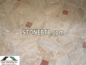 Bathroom Breccia Damascata