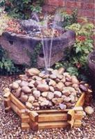 Fountain pebble