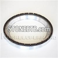 Silicon wafer back grinding wheels