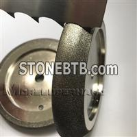 Electroplated Diamond parallel slant grinding wheels