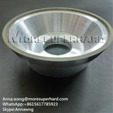Metal Hybrid Bond Diamond Grinding Wheels for CNC Fluting