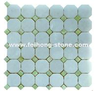 Octagon Marble Mosaic Tile