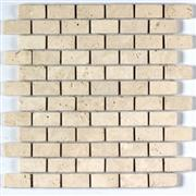 Beige Travertine Mosaics Brick