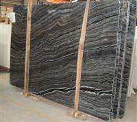Ancient Wood Vein Marble Slab, Wooden Marble