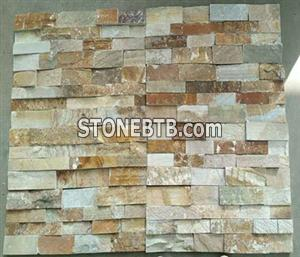 natural rusty culture slate panels for wall cladding