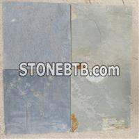 Cheap outdoor natural rusty slate stone flooring tiles