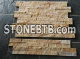 Sandstone Crude stacked stone wall cladding for exterior
