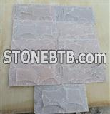 Natural Outdoor Quartzite Stone Wall Tile