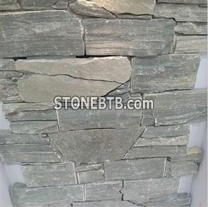 cultured natural stone slate tiles exterior wall cladding tiles