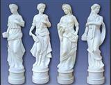 pure white marble Sculpture
