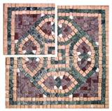 Tumbled Stone Mosaic Borders