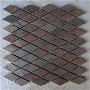 Copper Diamond Mosaic