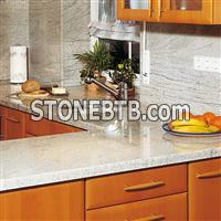 Kitchen worktops -Imperial White granite