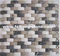 Honed Stone Mosaic
