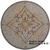 Travertine Mosaic Medallions K-M-23