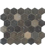 Nova Blue Hexagon Mosaic